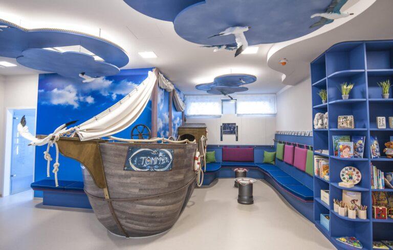 Das Spielschiff im Dr. Schlotmann Kids Club in Dorsten