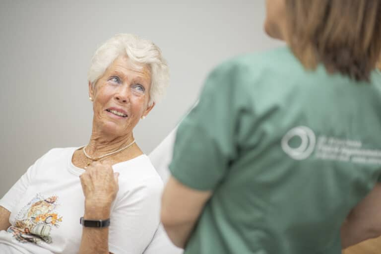 Durchführung eines Diseasemanagement Programm mit einer lebenserfahrenen Dame
